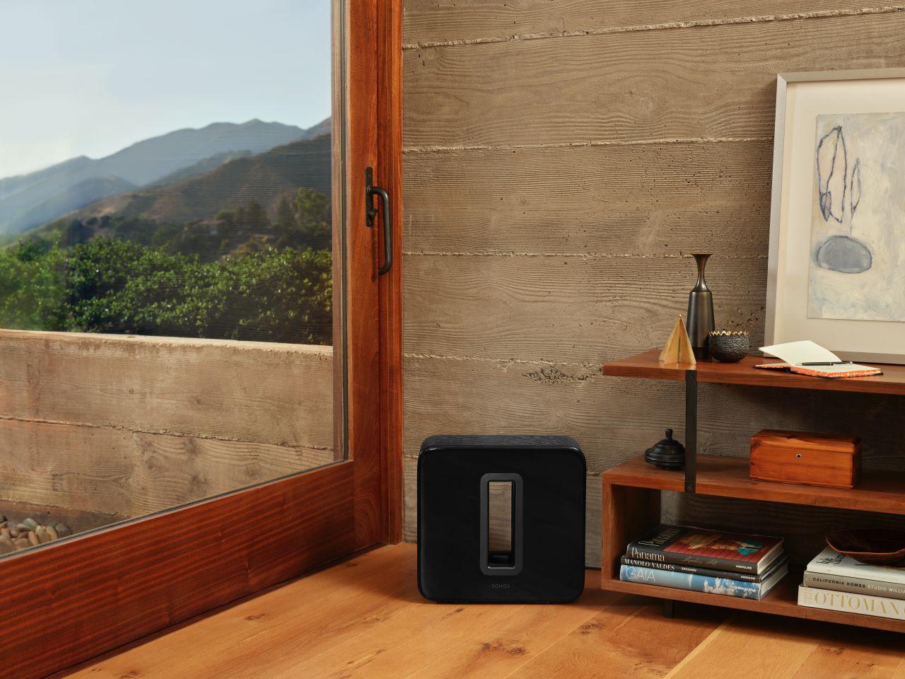 Sonos Sub im Zimmer